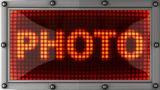 Blinking Lights(photo) stock footage