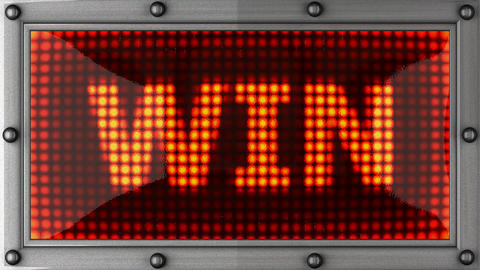 blinking lights(win) Stock Video Footage