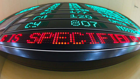 Information board Footage