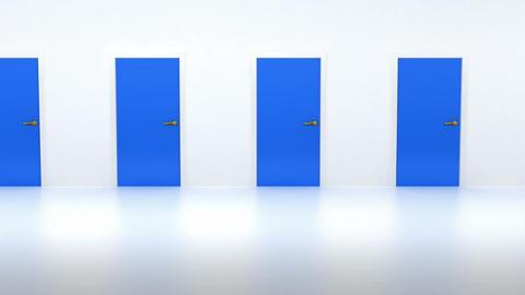Looped Doors Open Animation