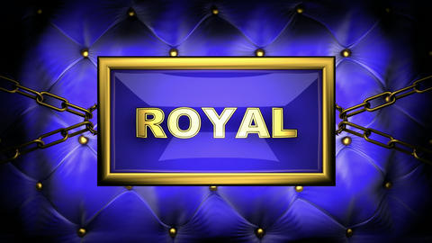 blinking monitor royal Stock Video Footage