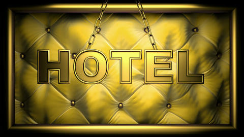 hotel yellow Animation