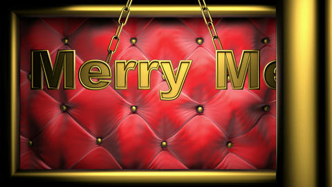 merry me red Stock Video Footage