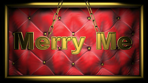 merry me red Animation