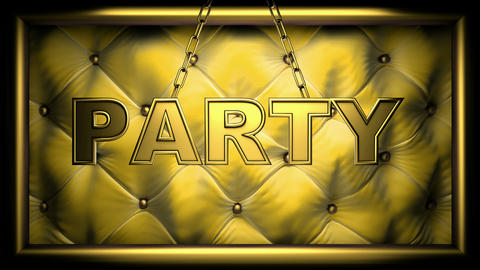 party yellow Animation