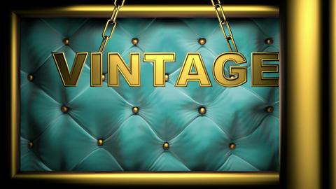 vintage golub Stock Video Footage