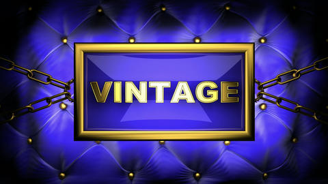 blinking monitor vintage Stock Video Footage
