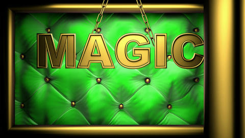 magic green Stock Video Footage