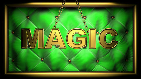 magic green Animation
