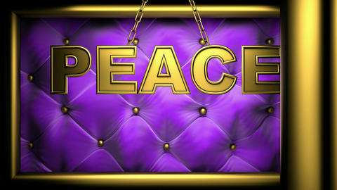 peace violet Stock Video Footage