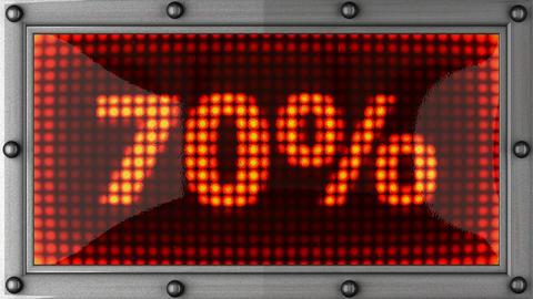 blinking lights(70%) Stock Video Footage