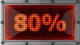 Blinking Lights(80%) stock footage