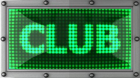 blinking lights(club) Stock Video Footage