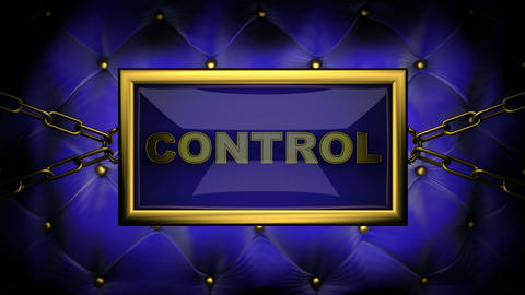 blinking monitor control Stock Video Footage