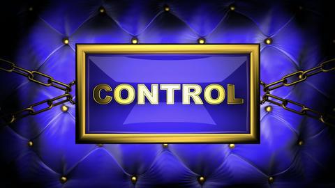 blinking monitor control Animation
