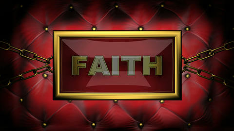 blinking monitor faith Stock Video Footage