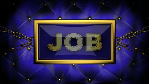 blinking monitor job Stock Video Footage