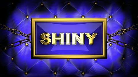 blinking monitor shiny Stock Video Footage