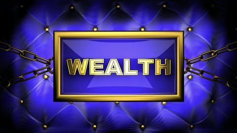 blinking monitor wealth Stock Video Footage