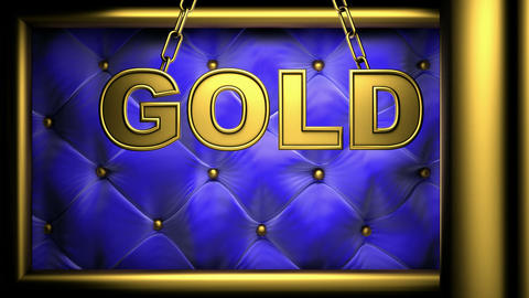 gold blue Stock Video Footage