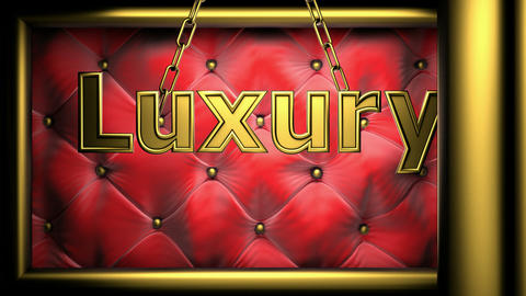 luxury red Stock Video Footage