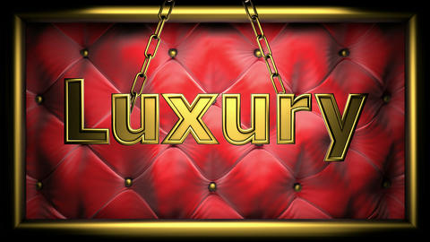 luxury red Animation