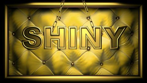 shiny yellow Stock Video Footage