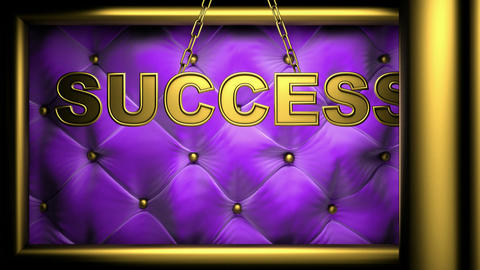 success violet Stock Video Footage