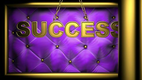 success violet Stock Video Footage