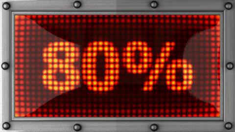 blinking lights(80%) Stock Video Footage