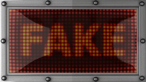 blinking lights(fake) Stock Video Footage