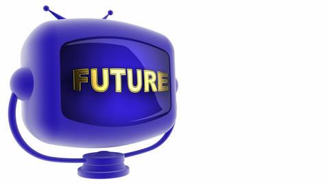 tv future blue Animation