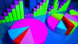 Business Graphics And Forex Indicators stock footage