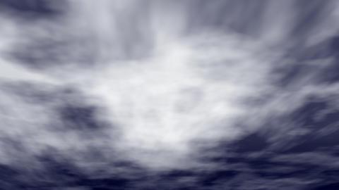 hurricane clouds are swirling Animation