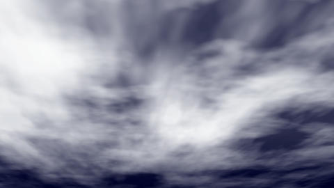 hurricane clouds are swirling Stock Video Footage