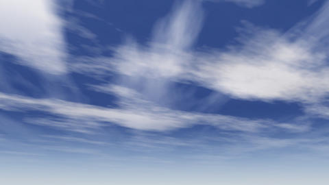 arizona clouds animation Stock Video Footage