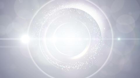 Opening intro Flash light flare W 3 white 4k 動画素材, ムービー映像素材