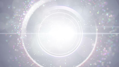 Opening intro Flash light flare W 3 white 4k Animation