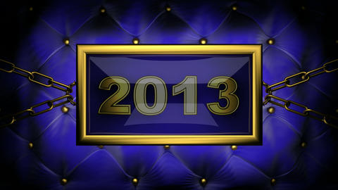 blinking monitor 2013 Stock Video Footage