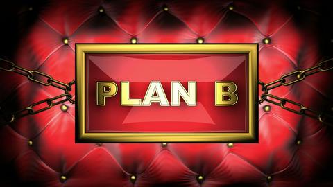 blinking monitor plan B Stock Video Footage
