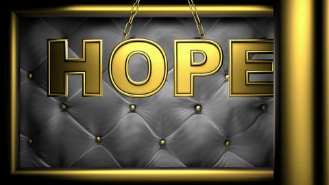 hope black Stock Video Footage