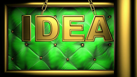 idea green Stock Video Footage
