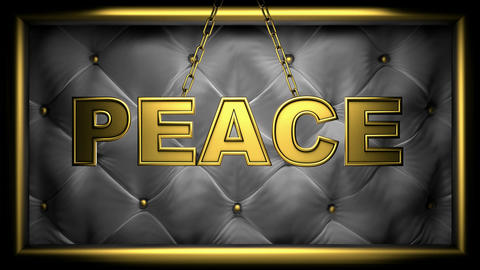 peace black Stock Video Footage