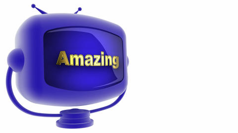 tv amazing blue Animation