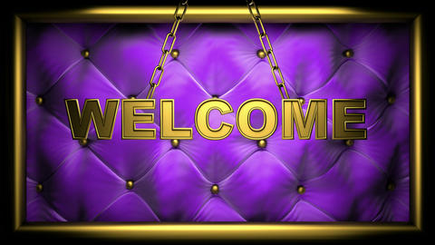 welcome viol Animation