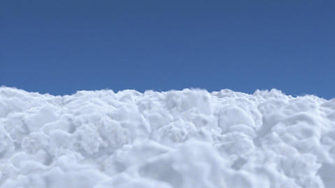 cloud fly Stock Video Footage