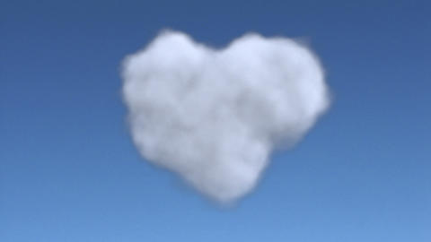 cloud heart full Animation