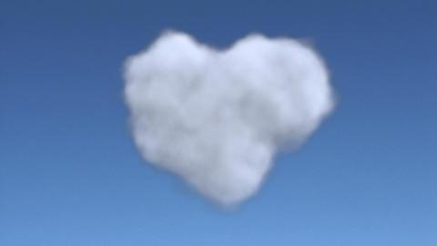 cloud heart full Animation
