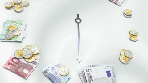 euro watch Stock Video Footage