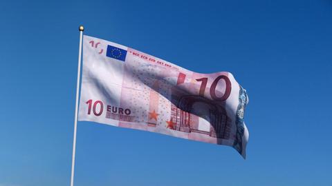 Flag Europe Animation